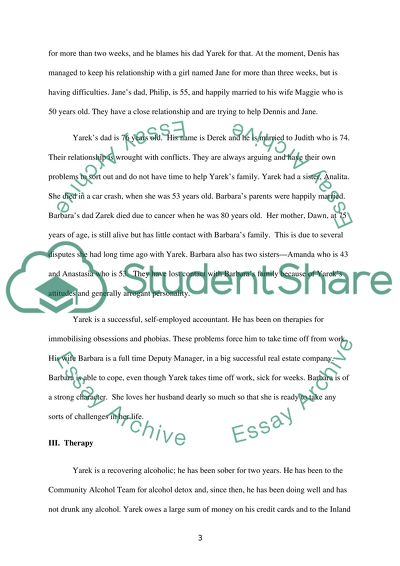 Case study essay counselling services