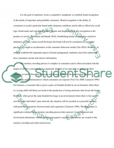 How Businesses Use Learning & Memory to Affect Consumers essay example
