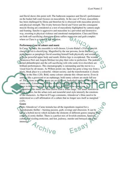 Critical Response Paper