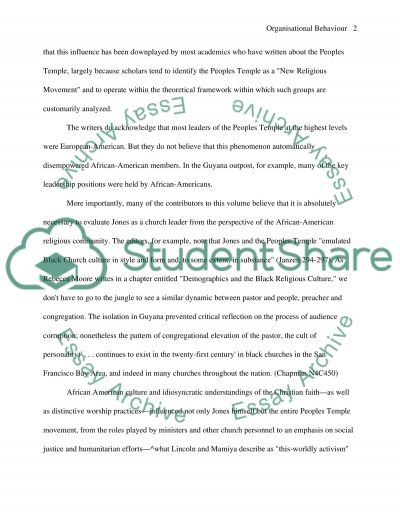 Black Religion essay example