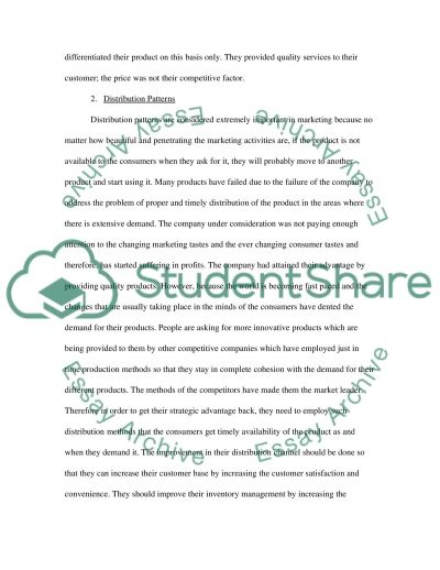 The Extended Marketing Mix essay example