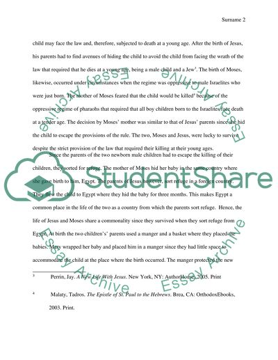 College Vs High School Essay Compare And Contrast Moses And Jesus Teaching Essay Writing High School also Persuasive Essay Sample Paper Moses And Jesus Essay Example  Topics And Well Written Essays  Yellow Wallpaper Essay