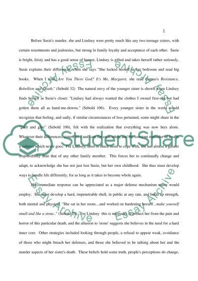 The Burden of Love, the Bonds of Sisterhood essay example