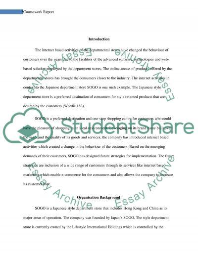 Coursework 1 Report