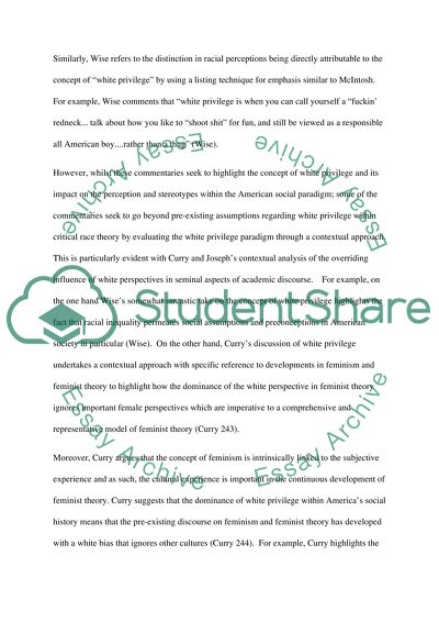 White Privilege Compare And Contrast Essay Example  Topics And  White Privilege Compare And Contrast Essay On Science And Technology also Essay About Healthy Food  Cause And Effect Essay Papers