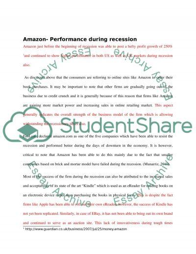 Literature review: amazon vs ebay