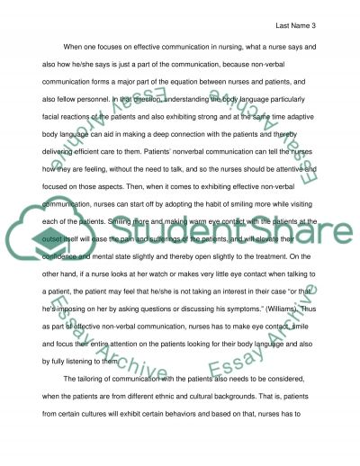 reflective essay on communication co reflective essay on communication