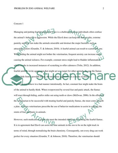 Problem With Zoo Animal Welfare Essay Example  Topics And Well  Problem With Zoo Animal Welfare Examples Of Good Essays In English also Ghostwriting Services Denver  How To Write Proposal Essay
