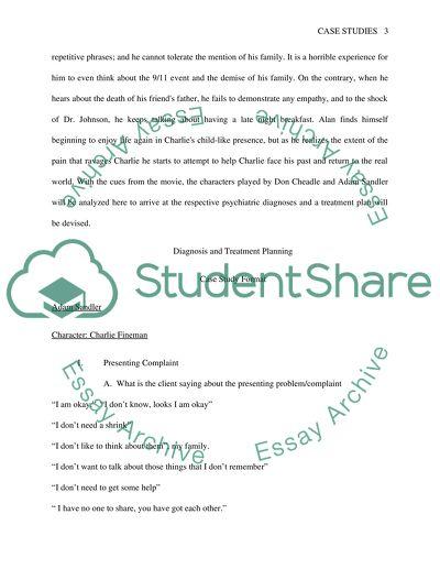 Case studies College Essay