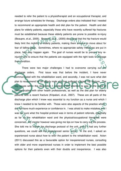 Management Skills in Adult Nursing Essay (4000 word reflection is to enable to develop a deeper, critical understanding of the development of knowledge and skill in Management)