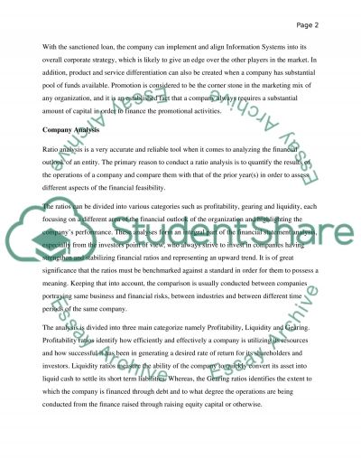 Financial Statements CW Report essay example