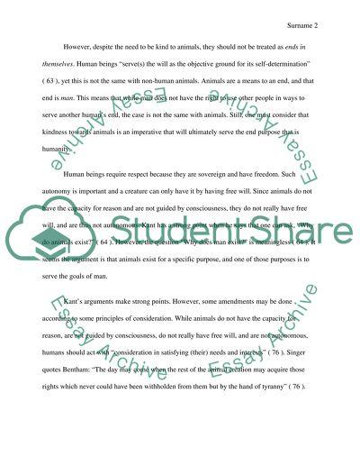 Kindness essay