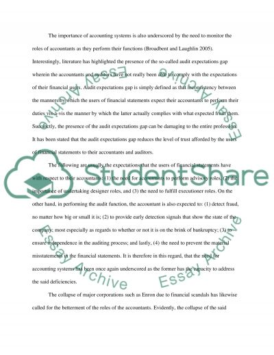 The role of accounting system in the UK for motivation essay example