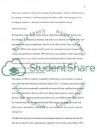 Marketing mix Essay example