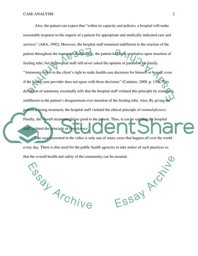 Ethical prinicles Essay Example | Topics and Well Written