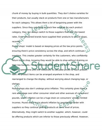 Marketing Audit on a еЈ1 shop Essay example
