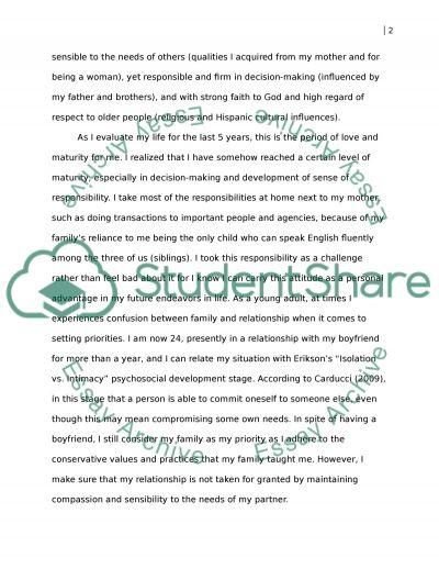 my personal growth essay Personal growth project plan essay on personal growth plantable of contents improving my knowledge of today's business world.