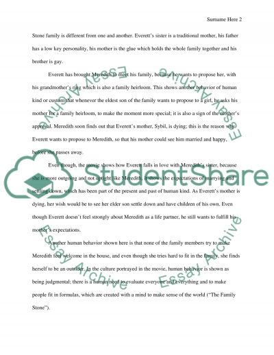 Movie review essay example