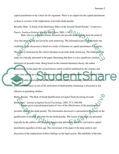 bibliography paper example
