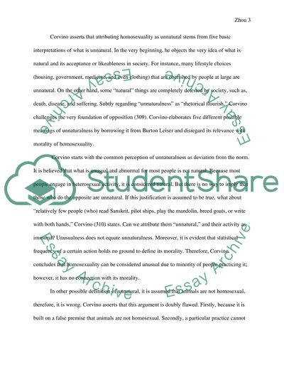 Ethical Reasoning Final Essay