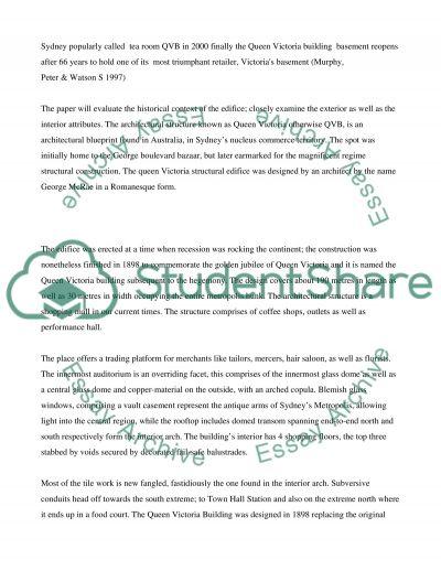 Australian History Project essay example