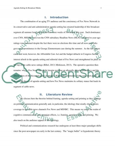 Research Projects Essay example