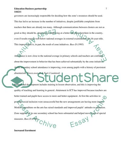Education Business Partnership