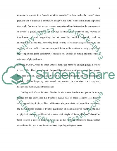 Crisis Management Paper essay example