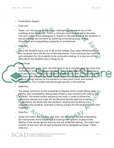 Educational essay example