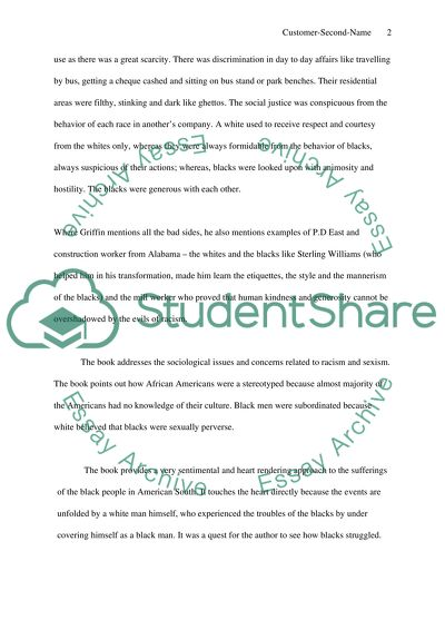 Essay Topics High School Book Review Of Black Like Me By John Howard Griffin English Essay Speech also Essay About High School Book Review Of Black Like Me By John Howard Griffin Essay Science And Technology Essays