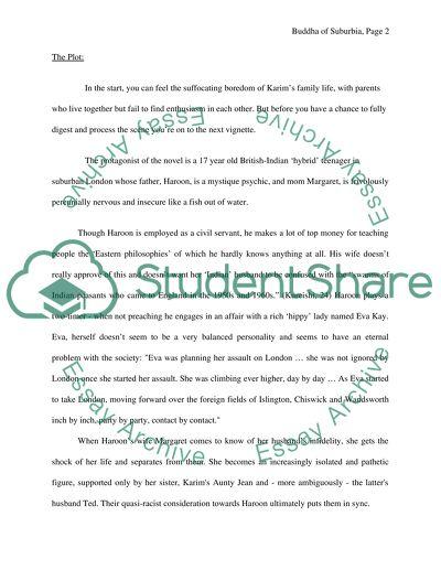 buddha of suburbia essay topics