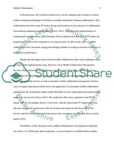 working together essay