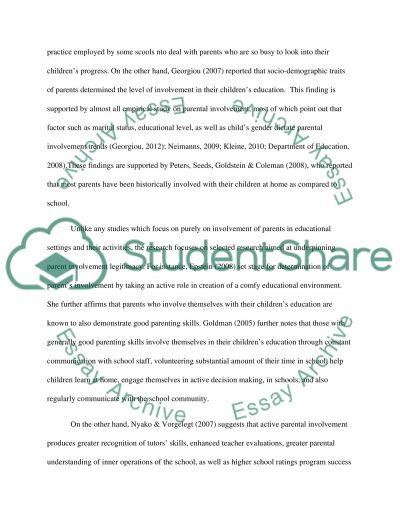 ways to involve parents essay Get narrative story writing help for every grade and learn how to write a narrative essay  does the essay involve the  read what parents are saying about.