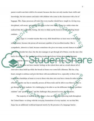 Mong Schoolchildrn essay example