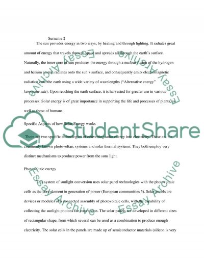 Green engineering essay example