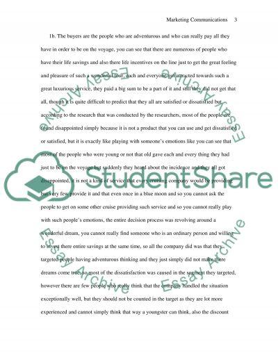 P&O essay example