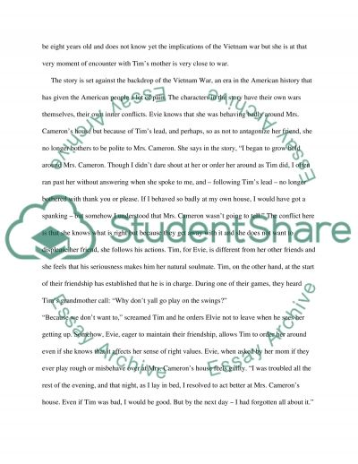 Analyzing Elements of Short Fiction essay example