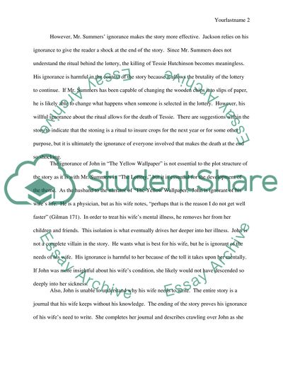 Mla Essay Generator  Ethical Dilemma Essay Example also Imaginative Essay Ignorance In Harrison Bergeron The Lottery And The Yellow  Economic Growth Essay