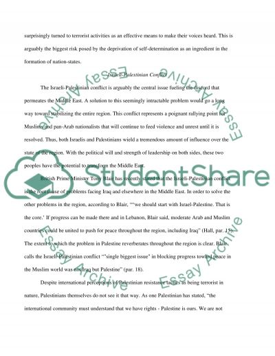 Middle East College Essay essay example