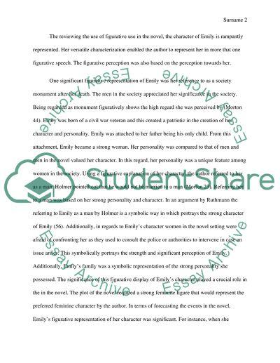 literary interpretation essay example