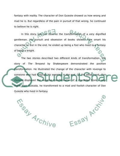 comparative essay pantomime and tempest The tempest william shakespeare the tempest literature essays are academic essays for citation these papers were written primarily by students and provide critical analysis of the tempest.