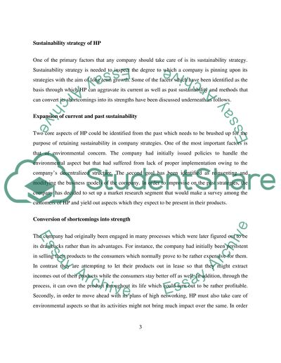 Sustainability Powerpoint Presentation