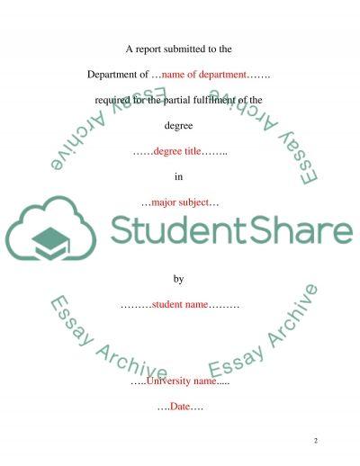 Management and Organisational Behaviour essay example