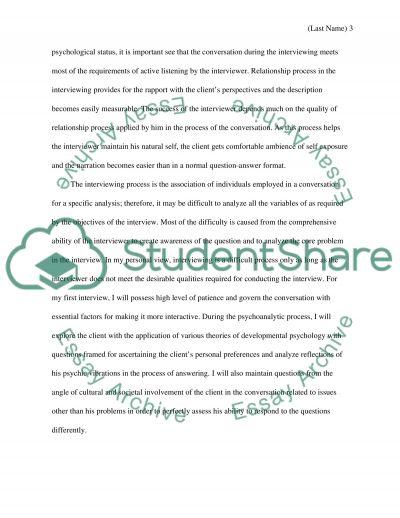 motivational interviewing essays