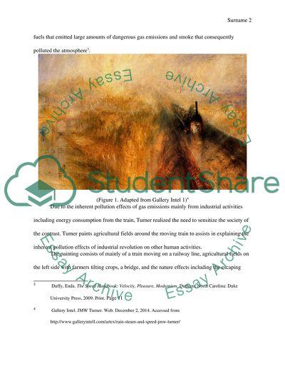 Art history ( romanticism art work) research paper