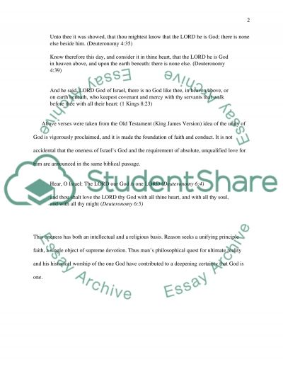 Compare and Contrast: Christianity and Judaism essay example