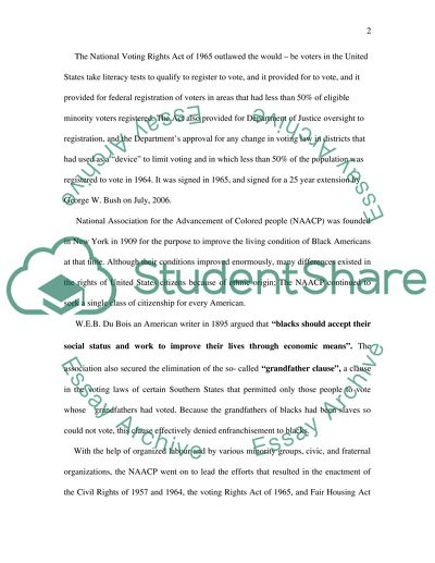Example Of Essay With Thesis Statement The Voting Rights Act Of  Sample Essay English also Thesis Examples For Argumentative Essays The Voting Rights Act Of  Essay Example  Topics And Well  Science Essay Ideas