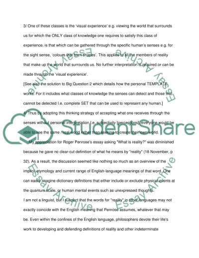 An Objective Way of thinking using mathematical principles essay example