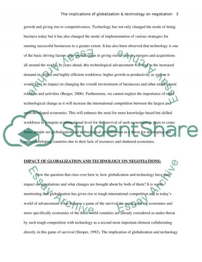 essay negotiation topics Read this miscellaneous essay and over 88,000 other research documents negotiation background: i was negotiating with our third-party partner who is a small company.