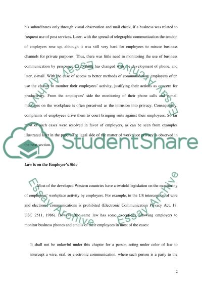 Communication Technologies essay example